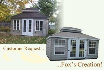 Custom Villa Pool House or Garden Shed