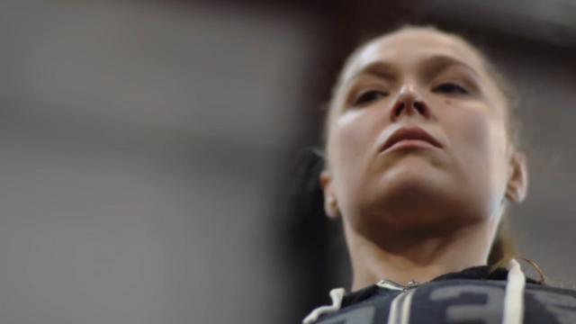 Rousey's WWE preparation