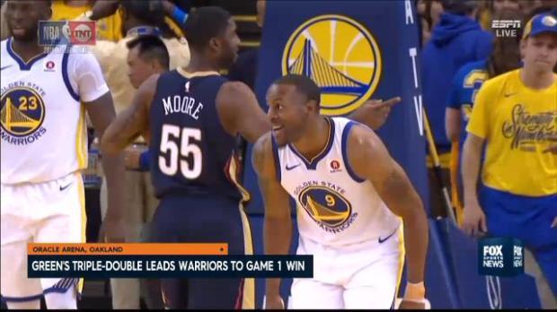 Golden State trump Pelicans