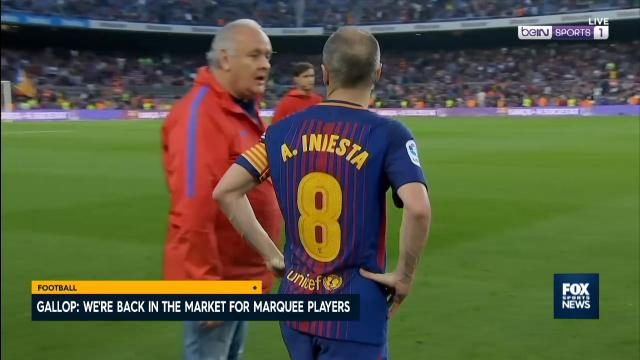 FFA express Iniesta interest