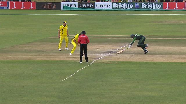 Richardson conjures run-out