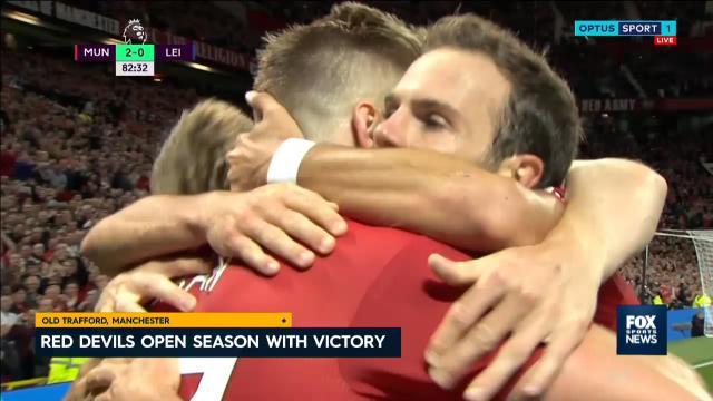United claim opening win