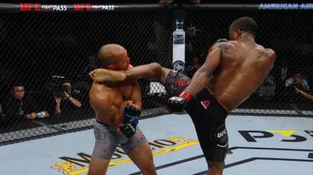 Neal's ludicrous KO kick