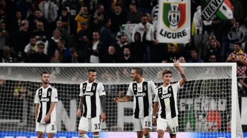 Juve star's awesome CL treble