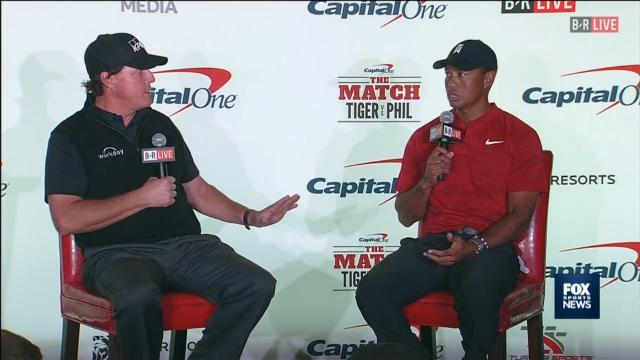 Mickelson's 100k Tiger bet