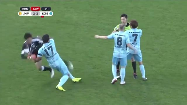 GK equaliser ignites brawl