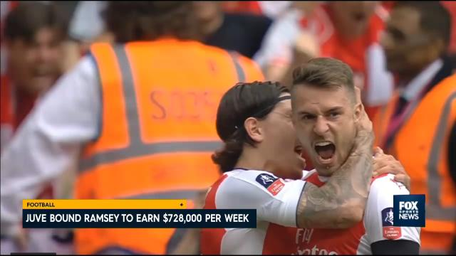 The monster with Ramsey Juve