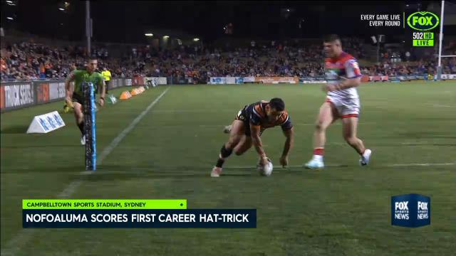 Wests Tigers hammer Knights