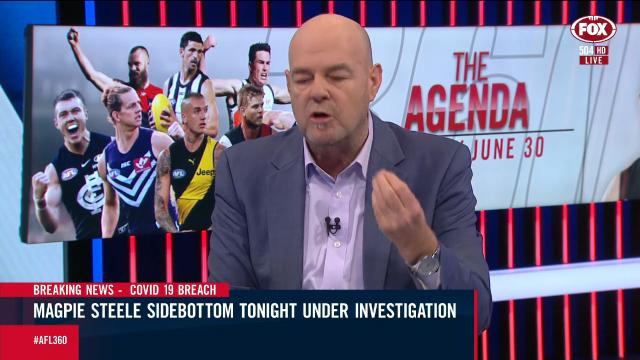 Gutted Robbo rips Sidebottom