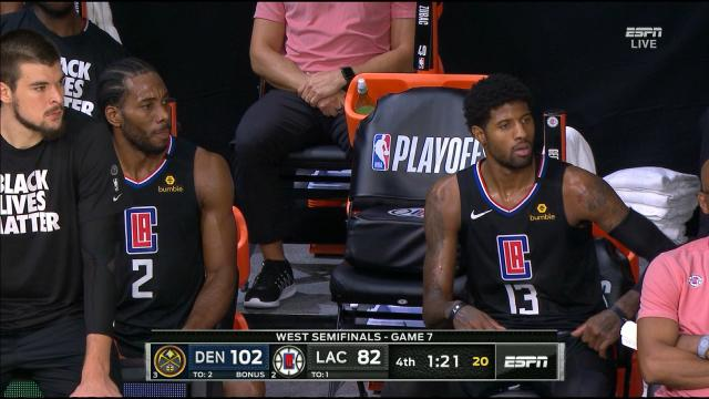 PG13 and Kawhi stink it up