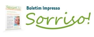 Boletim impresso Sorriso! da SISOitu, clínica odontológica especializada.