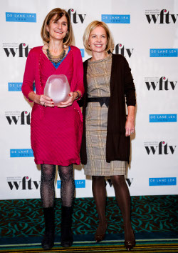Margy with Mariella Frostrup
