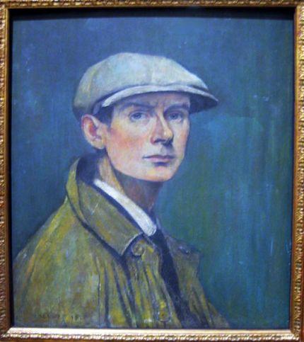 Lowry self portrait