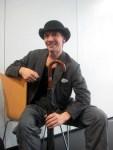 Darren Goldsmith of NBT dances Lowry