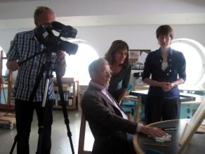 Foxtrot Films production still of Sir Ian McKellen in the Lowry Archive