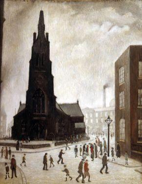 A Street Scene, St Simons
