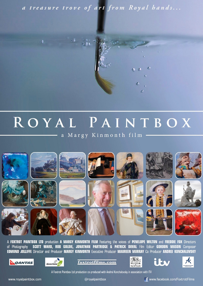 Royal Paintbox cinema poster