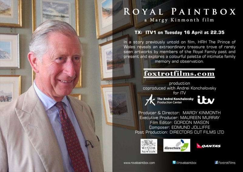 Royal Paintbox is on ITV tonight at 22.35