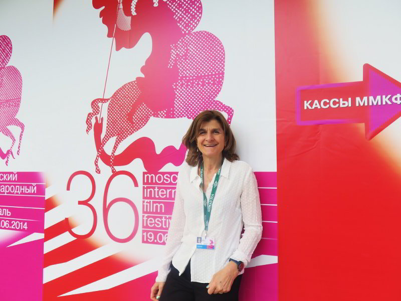 Margy Kinmonth at the Moscow International Film Festival for the premiere of Hermitage Revealed