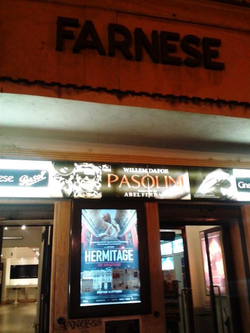 Spotted in Rome! Cinema Farnese - Piazza Campo de' Fiori