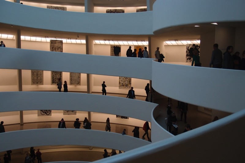 Guggenheim Museum NYC photo by Margy Kinmonth