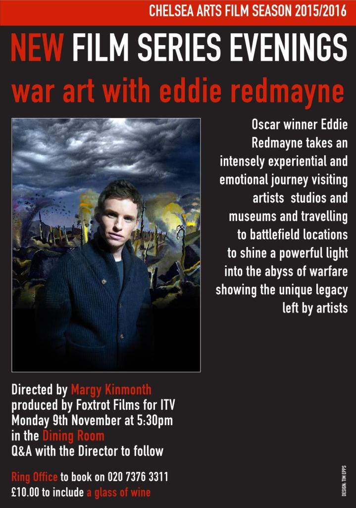 WAR ART with Eddie Redmayne