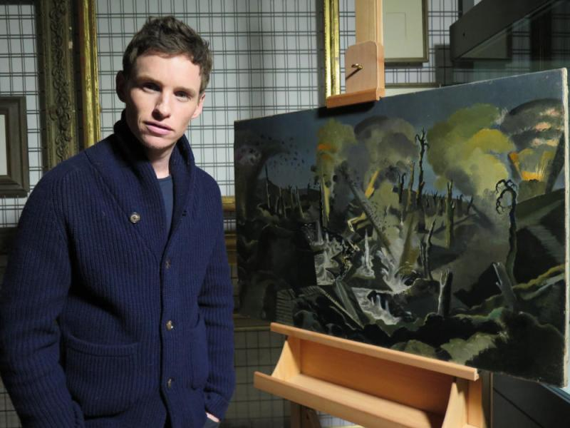 Eddie Redmayne with The Mule Track by Paul Nash © www.foxtrotfilms.com