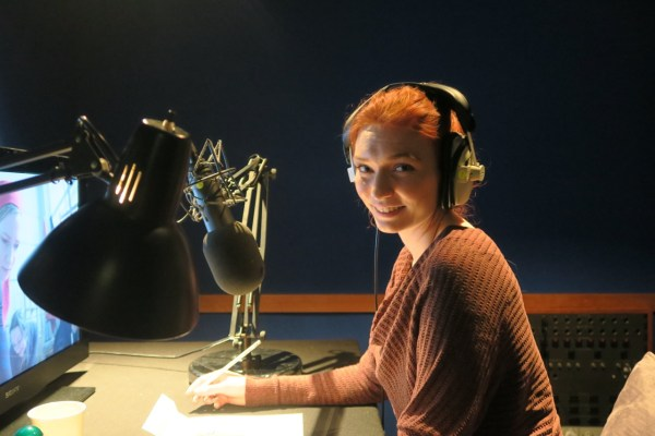 Eleanor Tomlinson records Revolution