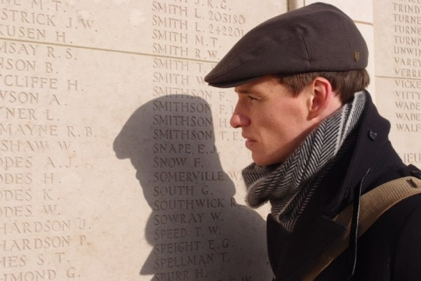 WAR ART with Eddie Redmayne. Photograph © www.foxtrotfilms.com