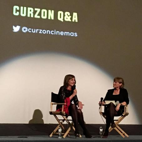 Revolution premiere at Curzon Mayfair Q and A with Kate Muir