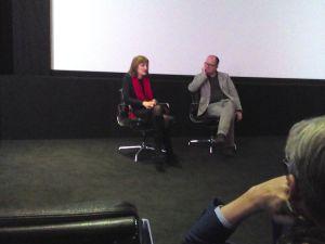 Margy Kinmonth & Ian Haydn-Smith. Molinare. Photograph © www.foxtrotfilms.com
