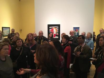 Royal Academy crowds at opening