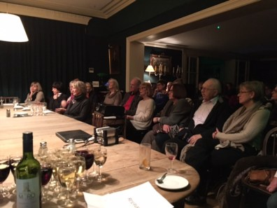 Audience at Chelsea Arts Club screening