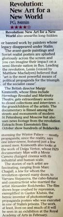 The Times - 4 Stars **** 4 November 2016
