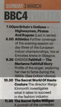 BBC4 Press Clipping