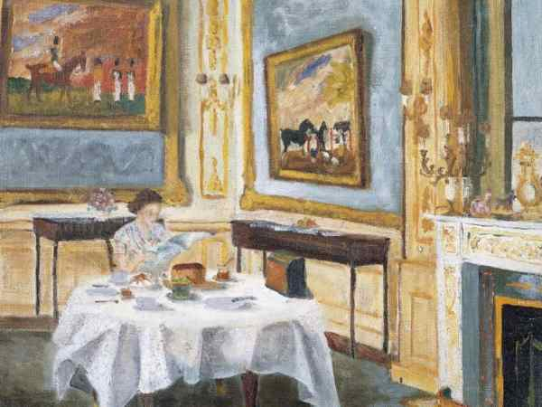 Painting by HRH the Duke of Edinburgh of the Queen