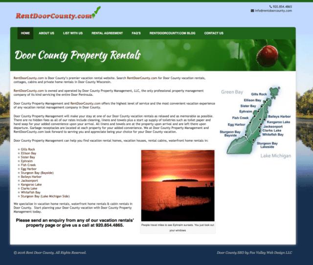 Www Rentdoorcounty Com Vacation Rentals In Door County Rentals Door County