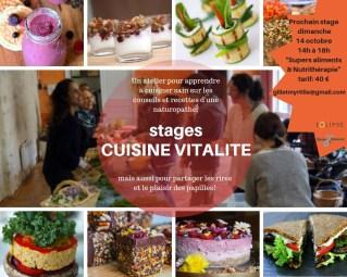 Stage Cuisine Vitalité OCT 18