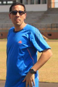Gerardo Acosta, presidente del departamento de atletismo del San José