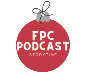 """Image of an ornament with the words """"FPC Podcast"""""""