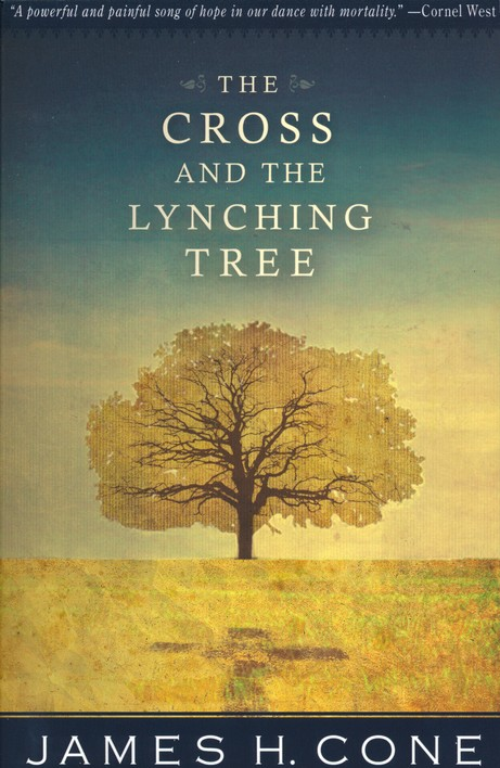 The cover of James H. Cone's The Cross and the Lynching Tree depicting a tree whose shadow is a cross