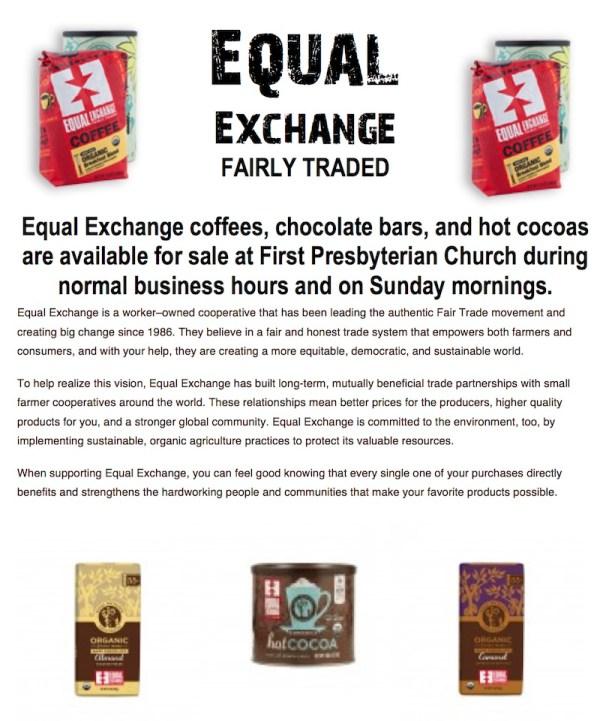 Equal Exchange Poster