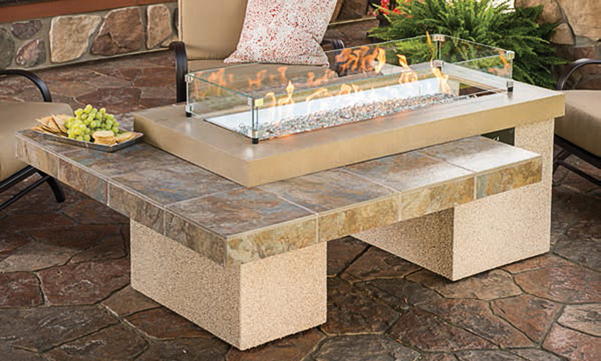 FPLC - Outdoor Living - Outdoor Firepits & Tables ... on Outdoor Dining Tables With Fire Pit id=35335