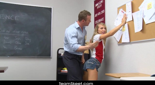 High School Teacher Fucks His Sexy Young Student Girl In A Classroom By Porn Fpo Xxx