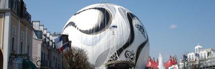 Weltgrösster WM-Fussball