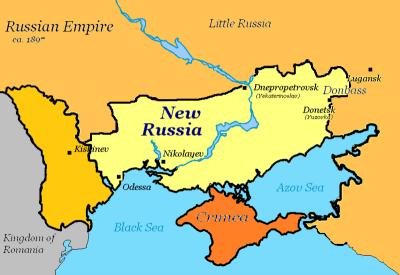 Russian Empire ca. 1897