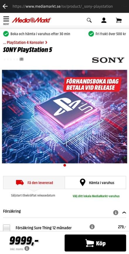 PS5 Media Markt 1