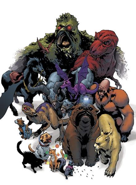 Marvel Pets Handbook