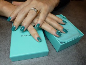 Smalto semipermanente color verde acqua simil Tiffany