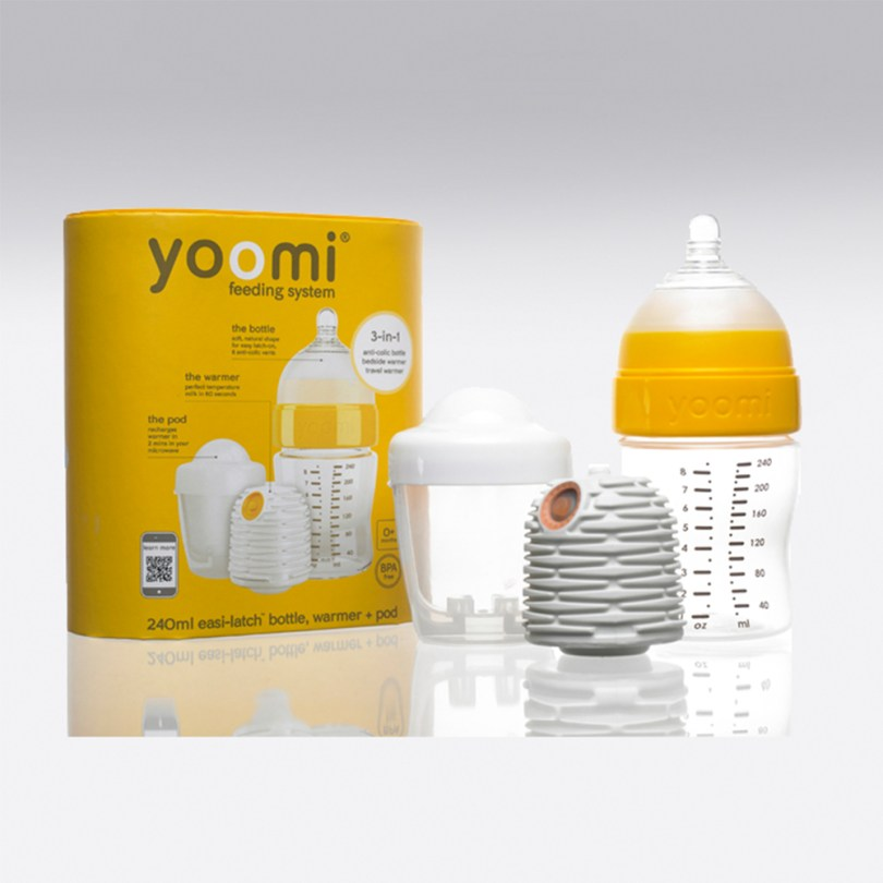 Self-Warming Baby Bottle and Breast Pump